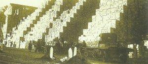 Alliiertes Umschlaglager bei Boulogne