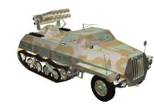 Panzerwerfer 42 auf Maultier