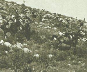 deutsche Ulanen in Palästina