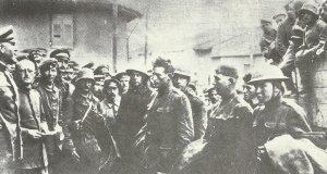 erstem amerikanischen Kriegsgefangenen