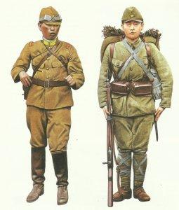 japanische Uniformen