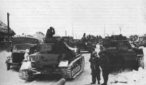 Panzergruppe Hoth formiert sich zum Unternehmen Wintersturm