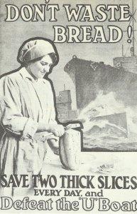 Verschwende kein Brot