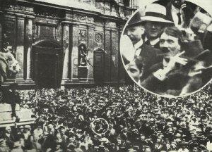 Adolf Hitler am 2. August 1914
