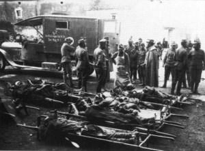 Verwundeten-Sammelstelle