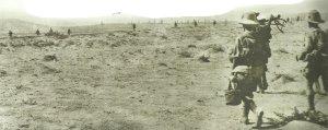 Britische Soldaten der Mission von General Dunsterville