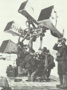 ussische Horchgeräte an Stalingrad-Einflugschneise