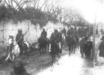 Arabische Kavallerie der türkischen Armee