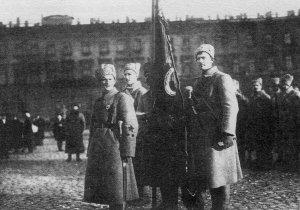 Soldaten der neuen Roten Armee