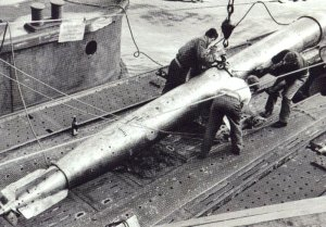 Flächen-Abschuss-Torpedo