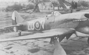 Tempest V der 222. Squadron 1945