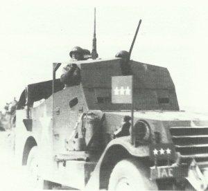 Patton leitet die US-Operationen