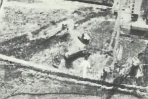 V-1 erstes Luftbild