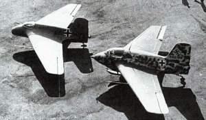 Me 163A-0 und Me 163B