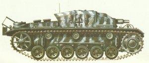StuG III mit kurzer Kanone