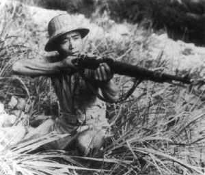 Unteroffizier Tung Chi-yuan der National-Chinesischen Armee