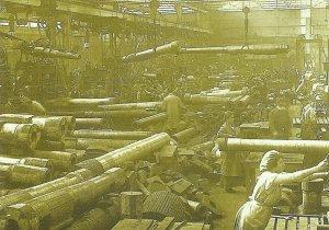 britische Geschützfabrik