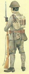 Japanischer Soldat im Zweiten Weltkrieg