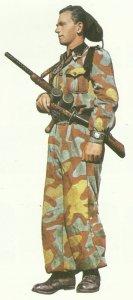 Milizionär der faschistischen Legion Tagliamento
