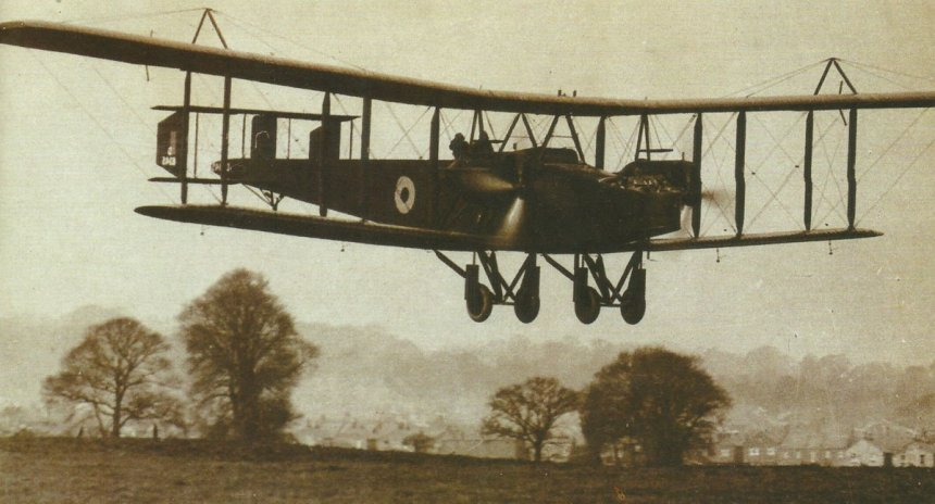 Handley-Page-Bomber