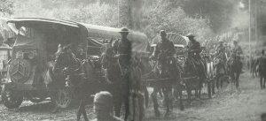 Nachschub an die Aisne