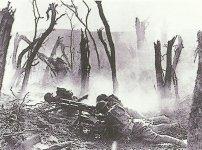 US-Soldaten im Gefecht 1918
