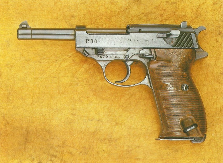 Automatik-Pistole Walther P-38