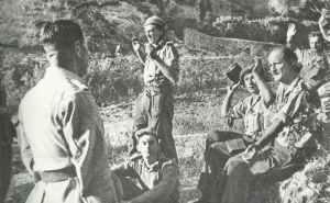 Gefangene britische Soldaten auf Sizilien