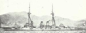 japnischer Dreadnought Settsu