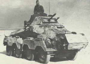 'Waffenwagen' SdKfz 231