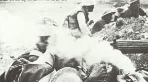 Vickers-MG Rauchschwaden