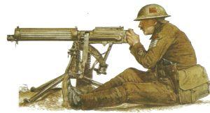 Unteroffizier des Machine Gun Corps