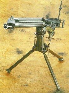 Vickers Mk I Maschinengewehr
