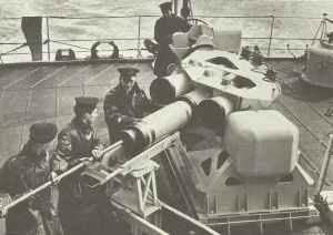 'Squid'-Wasserbombenwerfer