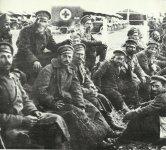 Bulgarische Soldaten in alliierter Kriegsgefangenschaft