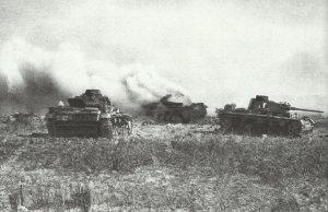 Zerstörte deutsche Panzer Mareth-Linie