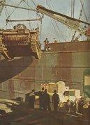 Deutsche Panzer für Nordafrika verladen