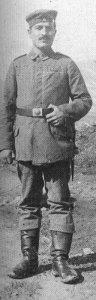 Deutscher Unteroffizier eines Infanterie-Regimentes