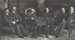 erste Regierung der deutschen Repubilk