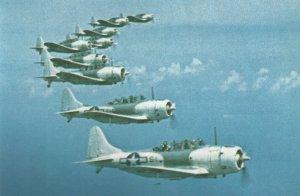 SBD Dauntless Sturzkampfbomber