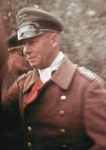 Generalfeldmarschall Rommel in Frankreich.
