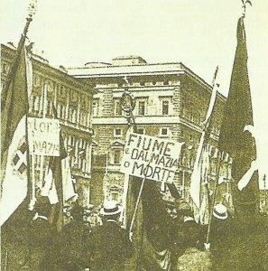 Nationalistische Demonstration in Rom