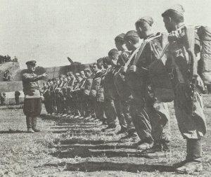Sowjetische Fallschirmjäger Kaukasus 1942