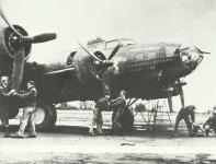 B-17F mit dem Namen 'Engel der Hölle'