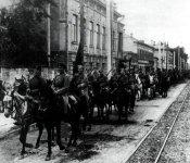Einmarsch Roter Kavallerie