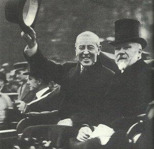 US-Präsident Wilson in Paris