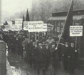 Demostration für den Berliner Vollzugsrat der radikalen Arbeiter