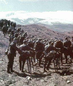 Deutsche Infanterie in Nordgriechenland