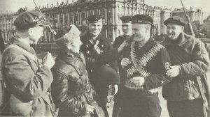 Matrosen und Arbeitermilizen Leningrad