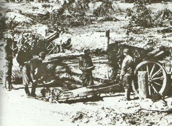 Skoda 149-mm Modell 1914 schwere Feldhaubitzen